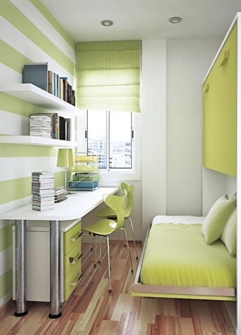 Лаконичная мебель для комнаты девочки-подростка