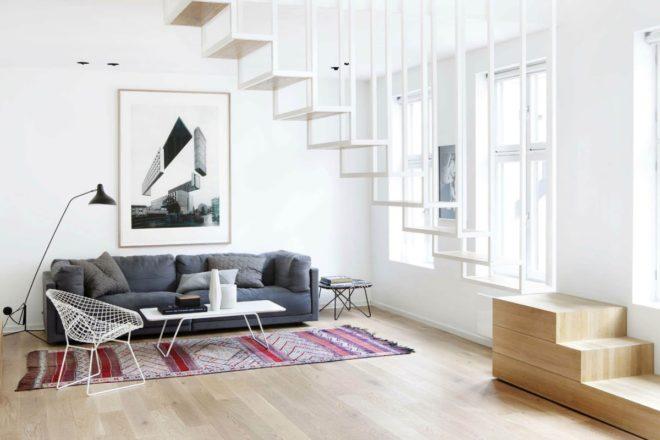Мебель в гостиной мимнимализма
