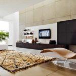 Оформление гостиной в стиле хай-тек