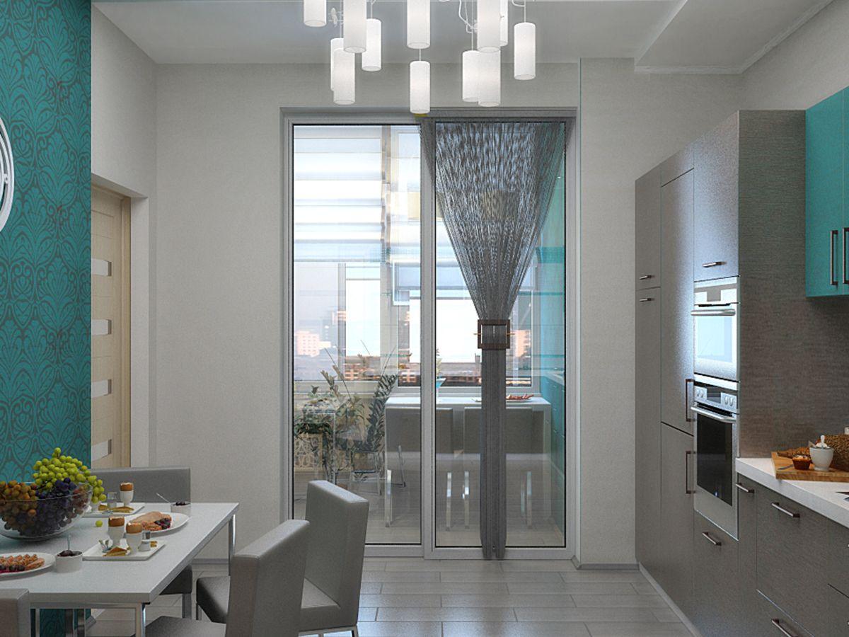 двуполый как совместить кухню с балконом фото известный способ