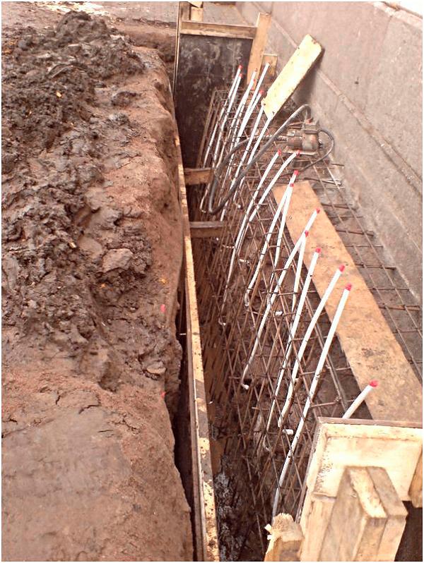 Усиление фундамента бетоном особые виды бетонов