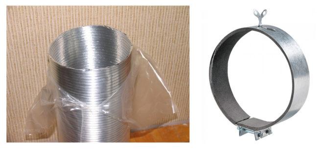 Фасонные элементы для вентиляции