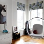 Комната с подвесным креслом