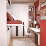 Комната с откидной кроватью