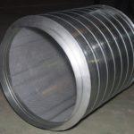 Трубчатый круглый шумоглушитель для промышленных вентиляционных установок