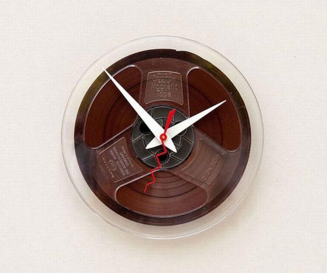 креативные часы на стену в советском стиле