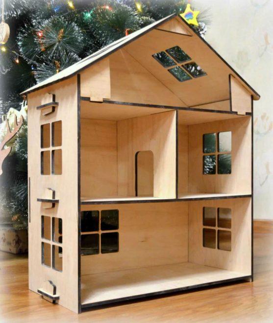 домик для ребенка из фанеры