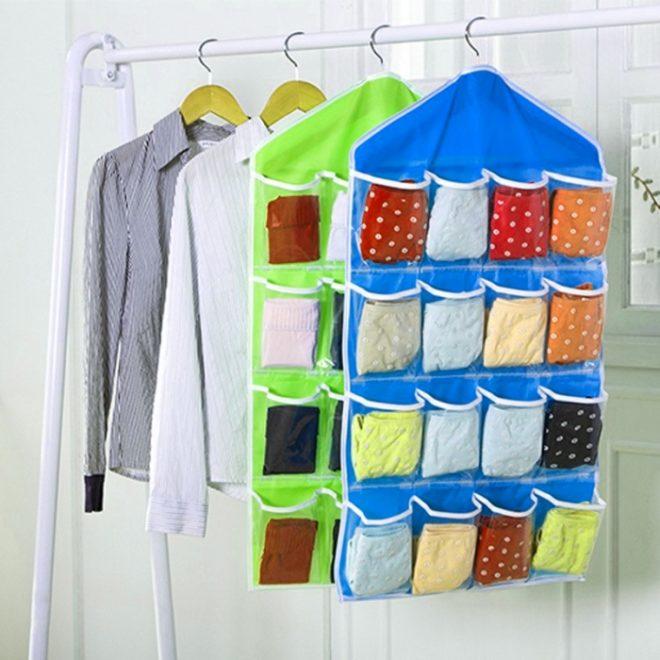 Вертикальная система хранения для мелких вещей