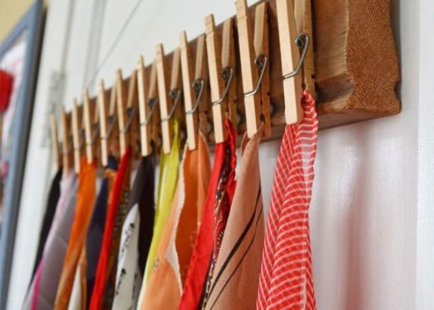 Стеллаж для шейных платков и шарфиков