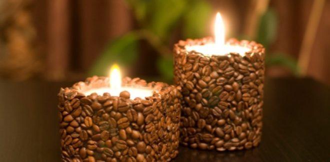 Свечи из натуральных материолов своими руками