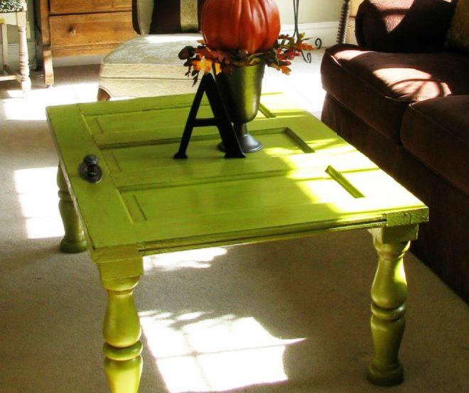 зелёный журнальный столик