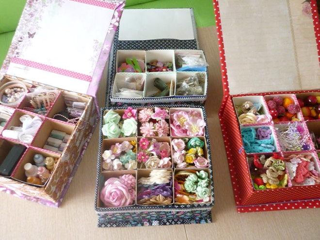 Коробочки для хранения мелочей