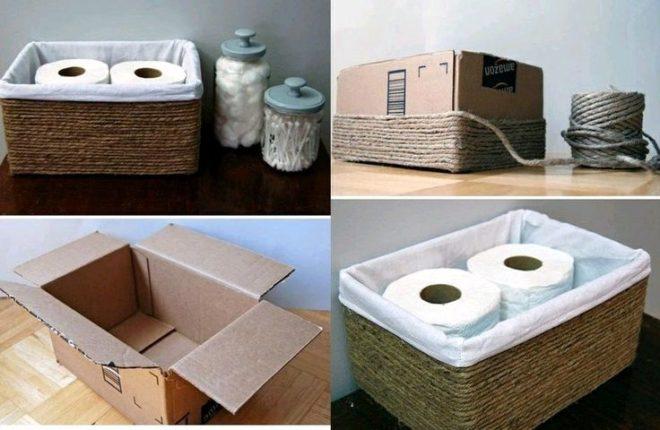 Коробки для туалетных принадлежностей