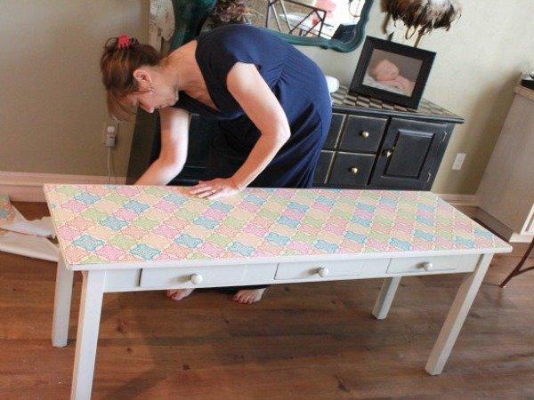 Снятие размеров стола