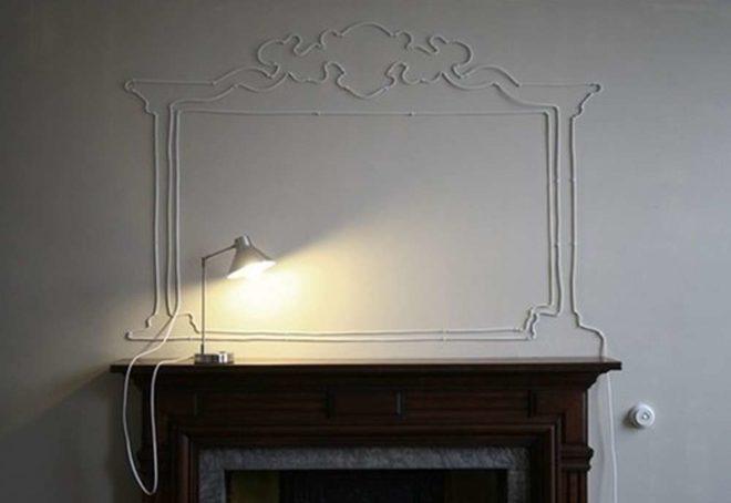 Провода в интерьере