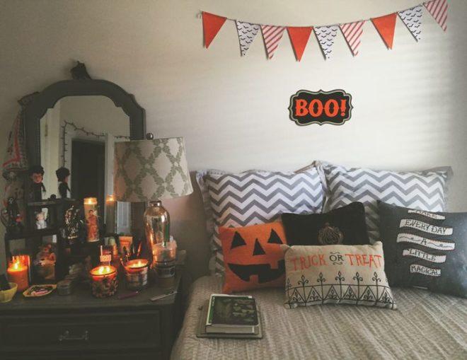 Декор подушек для Хэллоуина