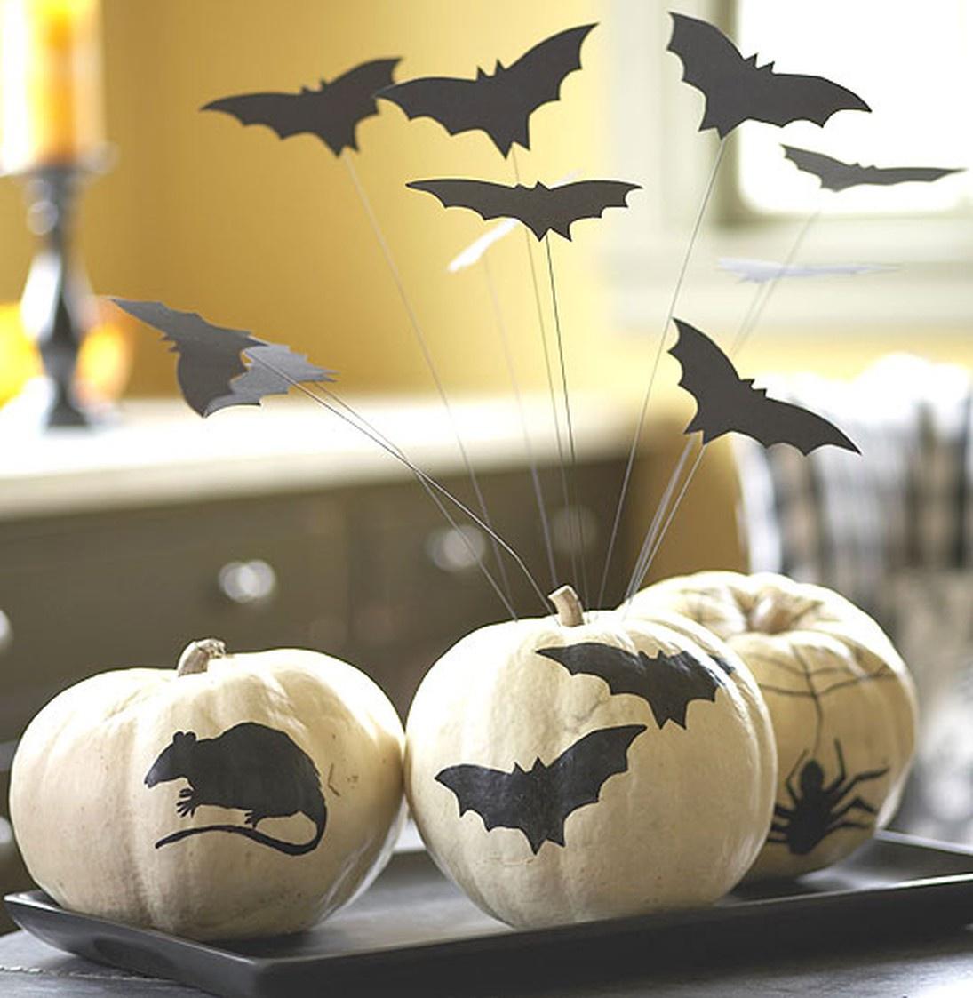 Оригинальный декор для вечеринки на Хэллоуин своими руками