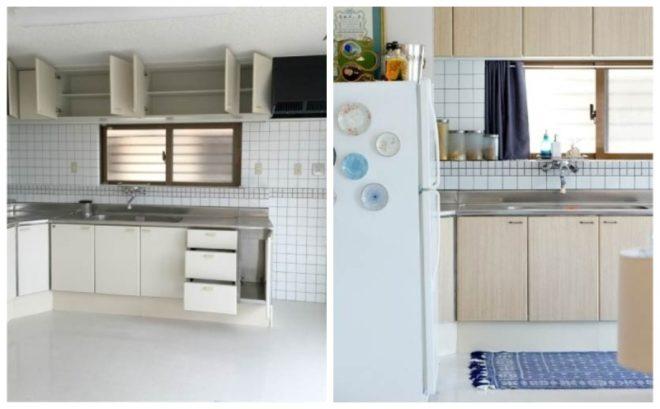 Новые дверцы фасада для старого кухонного гарнитура
