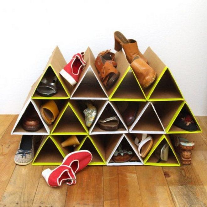 оригинальные способы хранения обуви