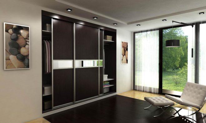 Шкаф-купе для экономии места в помещении
