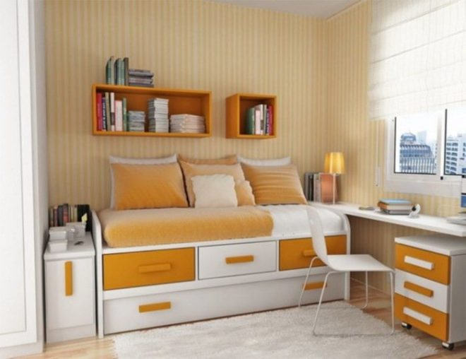Как расставить мебель в маленькой комнате