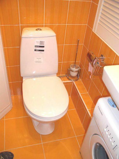ремонт туалета дешево и красиво своими руками с использованием ярких цветов