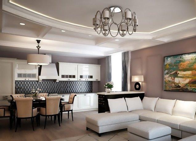 Потолочные люстры в современном стиле