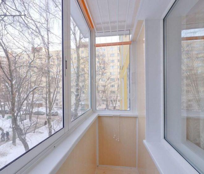 оформление маленького балкона в хрущевке