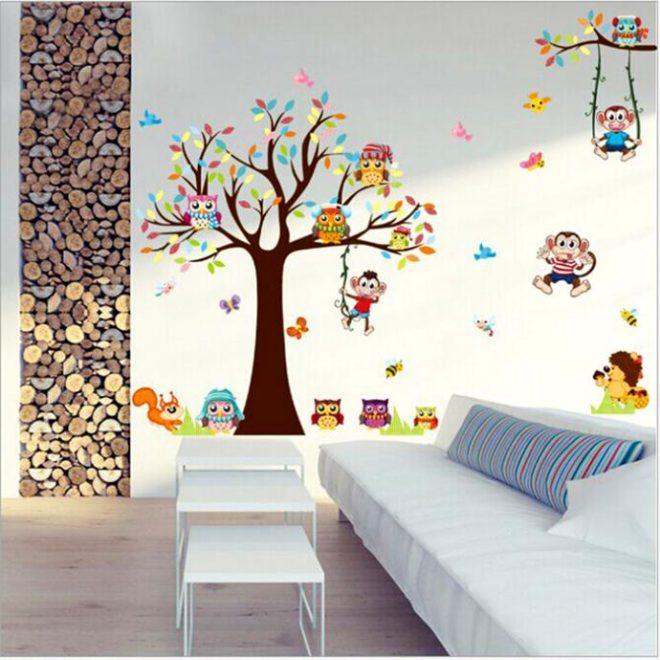 Трафареты для стен