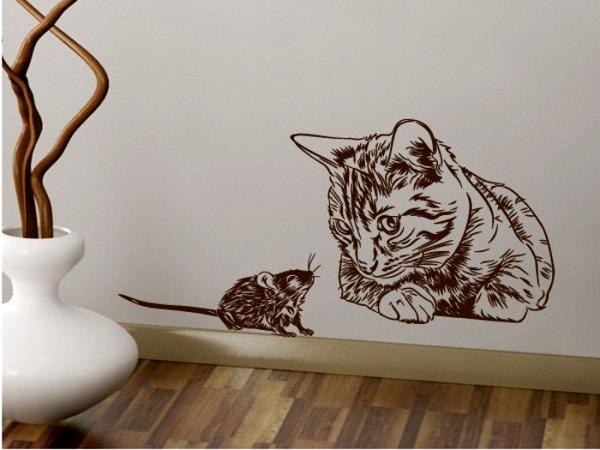 Трафареты для стен под покраску