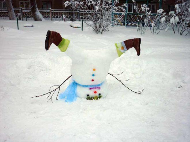 Снеговик-перевёртыш