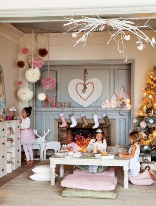 Как украсить детскую на Новый 2019 год