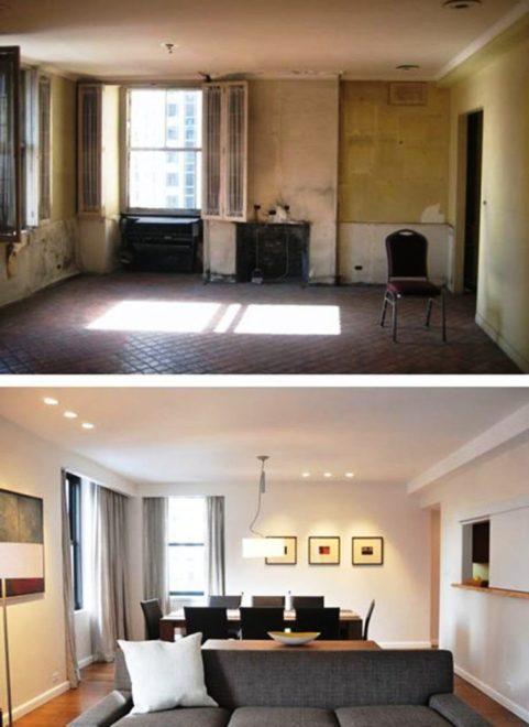 Интерьер квартиры до и после ремонта