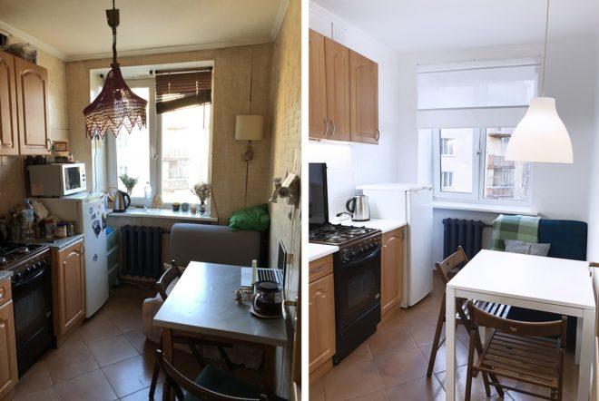 Бюджетный ремонт квартиры: фото до и после