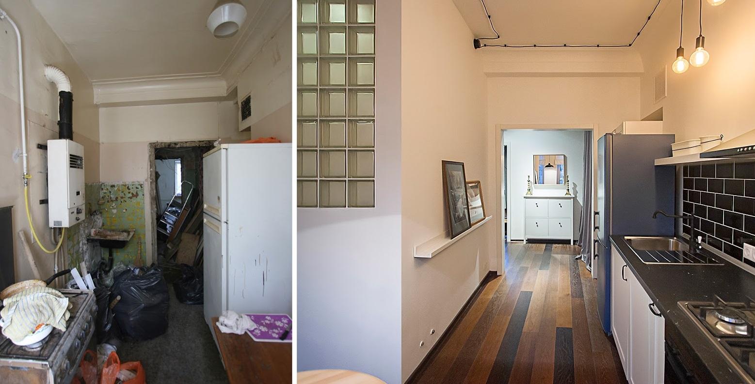 бюджетный ремонт квартиры фото до и после