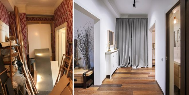 Бюджетный ремонт квартиры: до и после