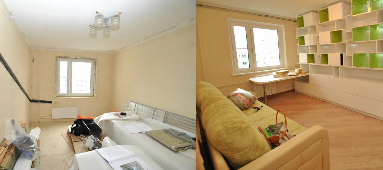 Ремонт квартир картинки до и после своими руками