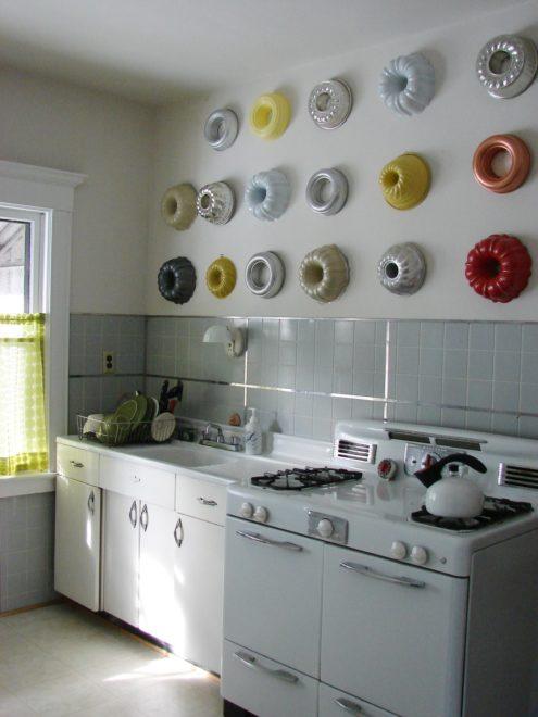 Оригинальный декор кухни своими руками