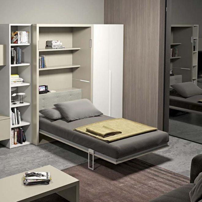Кровать-трансформер для малогабаритной квартиры