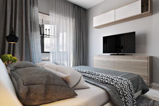 интерьер спальни 12 кв м