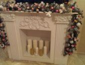 Новогодний камин своими руками из коробки