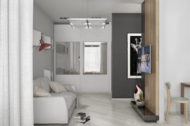 Зеркала в дизайне маленькой квартиры