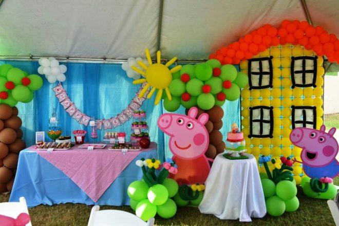 Украшение комнаты на день рождения ребёнка