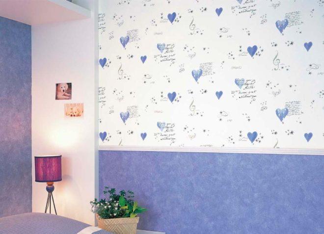 Фото обоев в детскую комнату для девочки