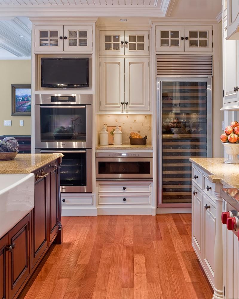 встроенные кухонные шкафы фото наступает очень редко
