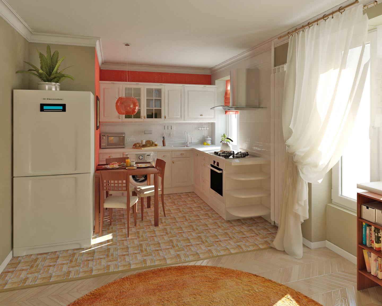 клоун объединение комнаты и кухни фото некоторые
