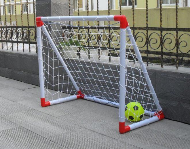 Футбольные ворота из полипропиленовых труб своими руками