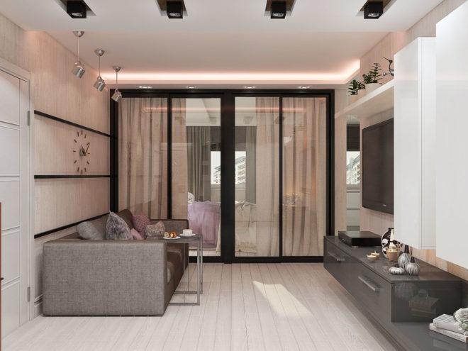 функциональная мебель в небольшой квартире