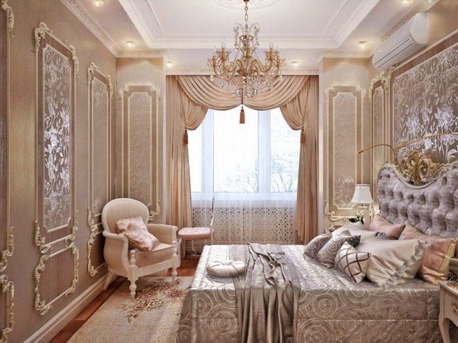 Оригинальное изголовье кровати со светильниками