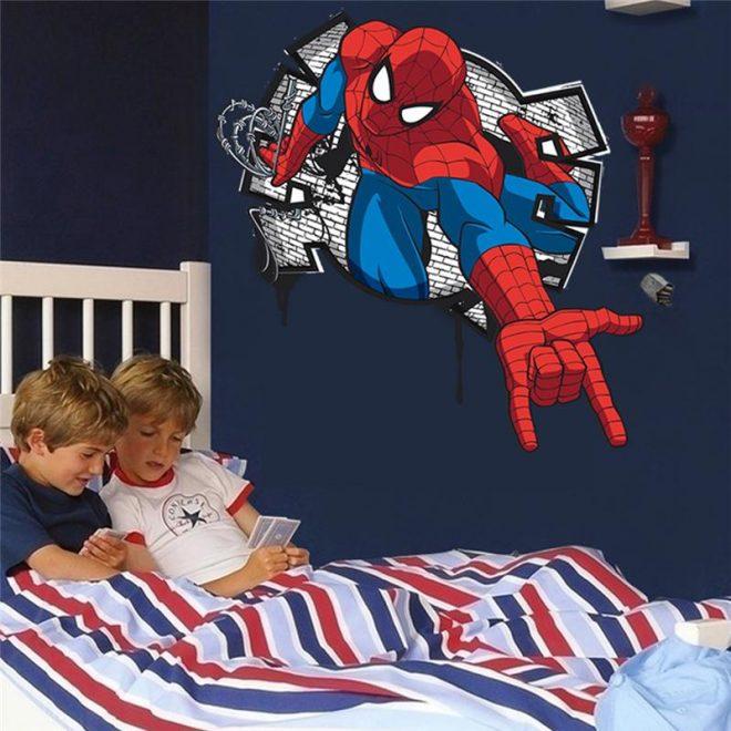 Настенная наклейка для комнаты мальчика